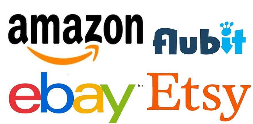 Sprzedaż na Amazon, Flubit, Ebay, Etsy