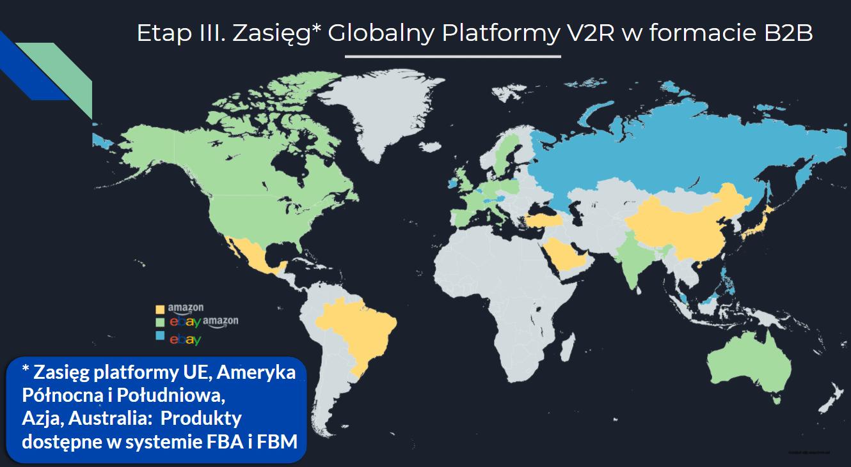 zasięg platformy V2R etap III